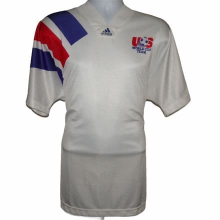 1992-1994 USA Player Spec Home Football Shirt, Adidas, XL (Excellent Condition)